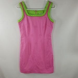 Lilly Pulitzer 4 Dress Embroidered